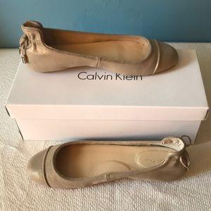CALVIN KLEIN BALLET FLATS
